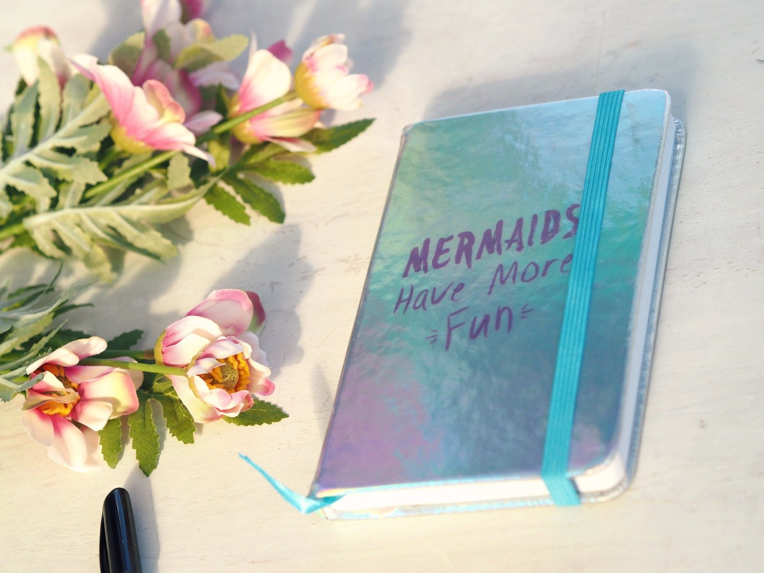 Mermaids Have More Fun Notebook