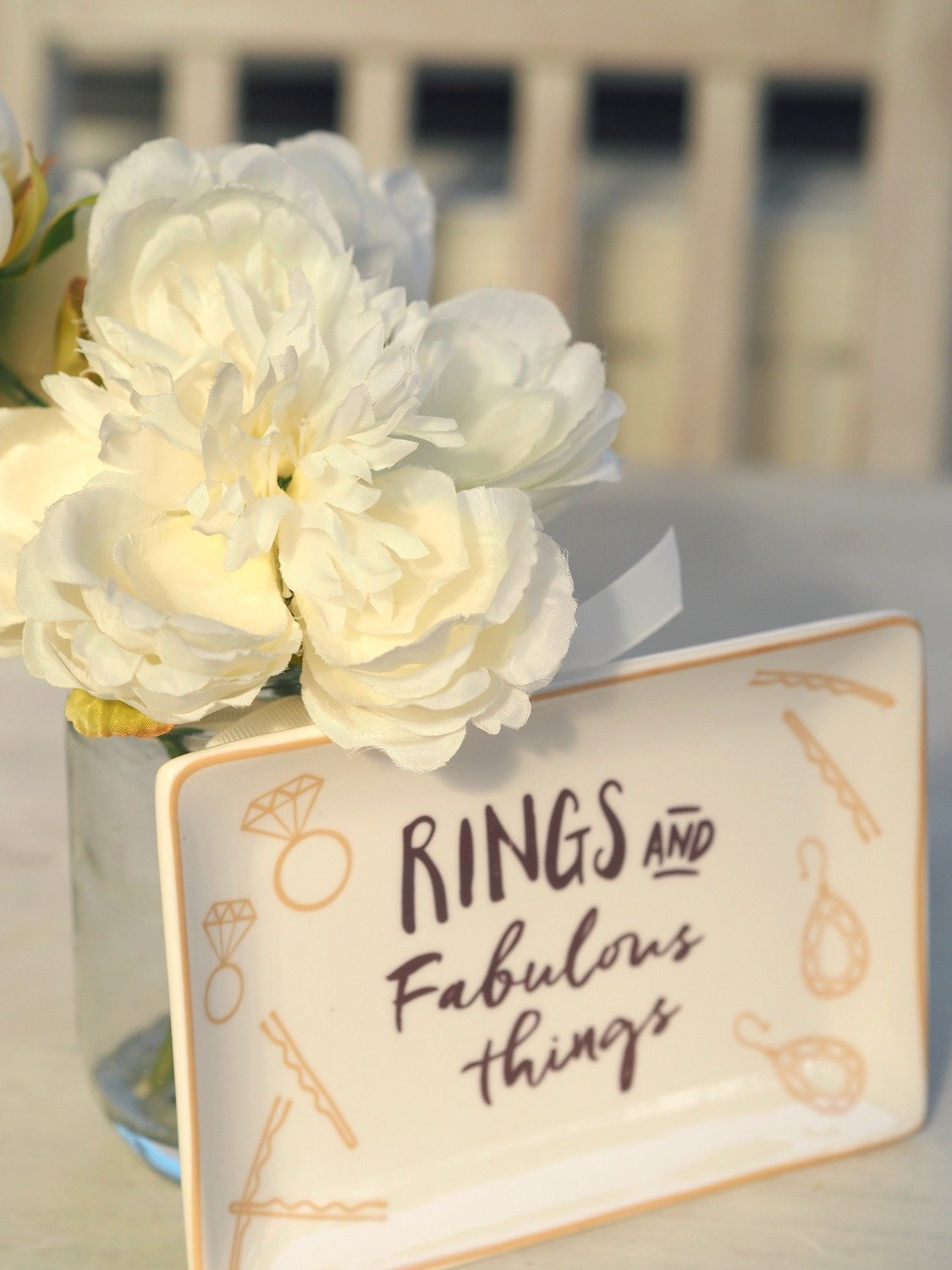 Rings And Fabulous Things Dish