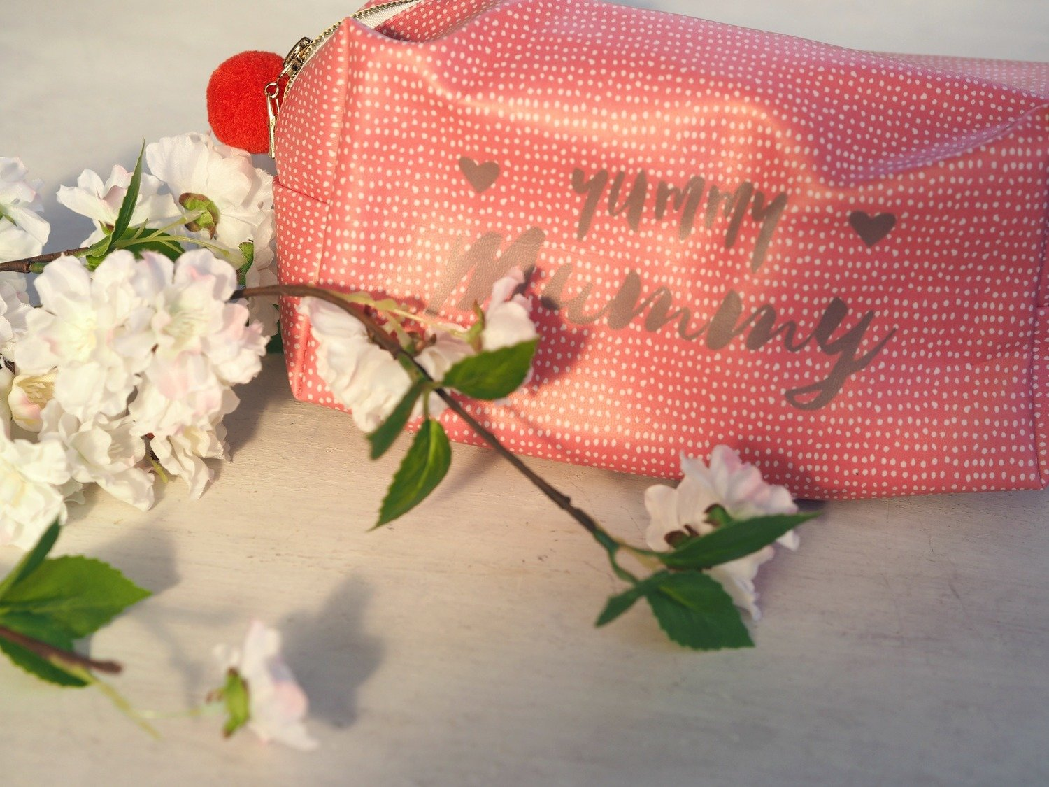 Yummy Mummy Makeup Bag