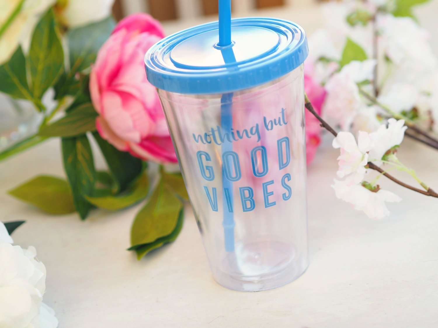 Good Vibes Drinking Cup
