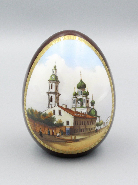 "Яйцо пасхальное ""Храмы"""