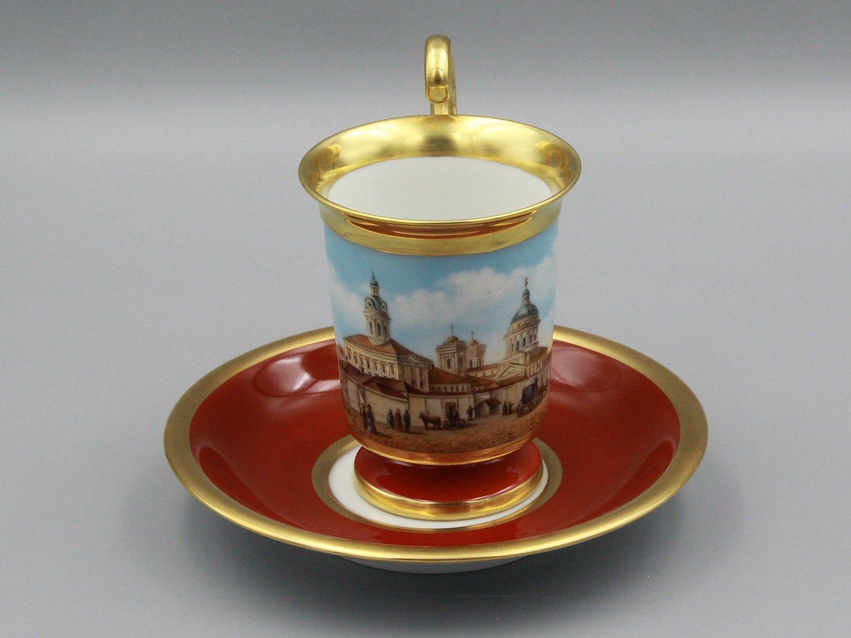 "Чашка ""Вид на Александро-Невскую лавру"""