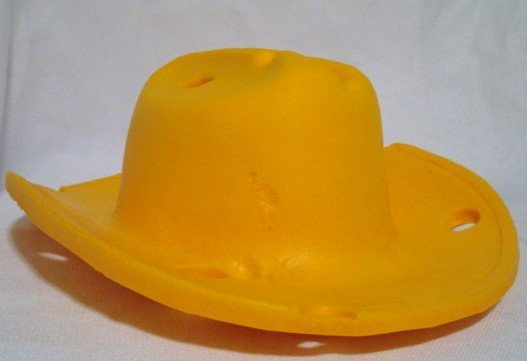 Wisconsin Cheese Head Cowboy Hat 00010