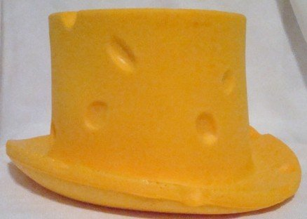 Wisconsin Cheese Head Top Hat 00012
