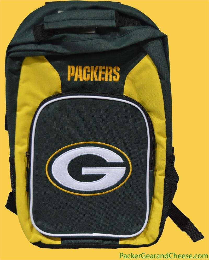 Green Bay Packers Backpack 00025