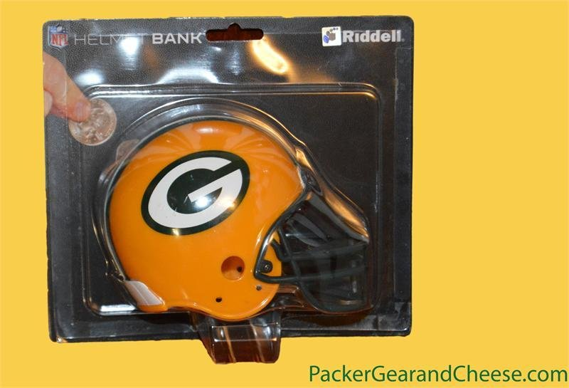 Green Bay Packers Ridell Helmet Coin Bank 00028