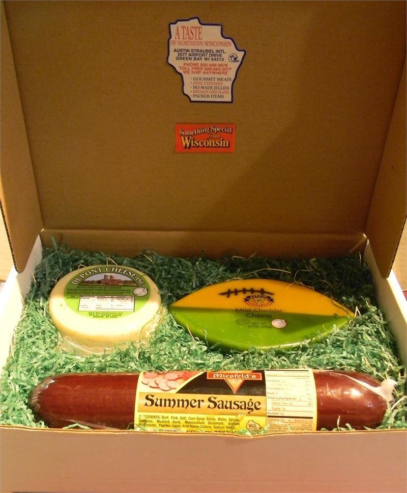 Wisconsin Cheese and Sausage Gift Box 00034