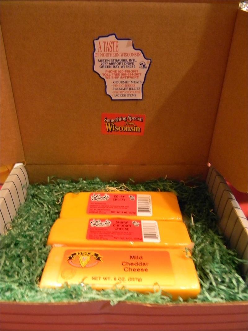 Wisconsin Cheese 3 Brick Gift Box 00035