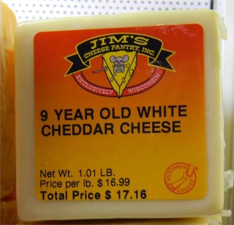 9-year Aged Cheddar Cheese 00049
