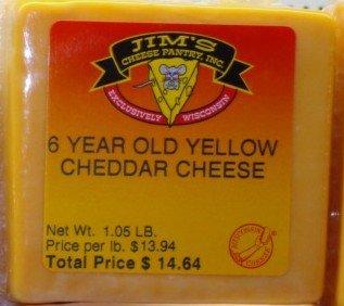 6-year Aged Cheddar Cheese 00050