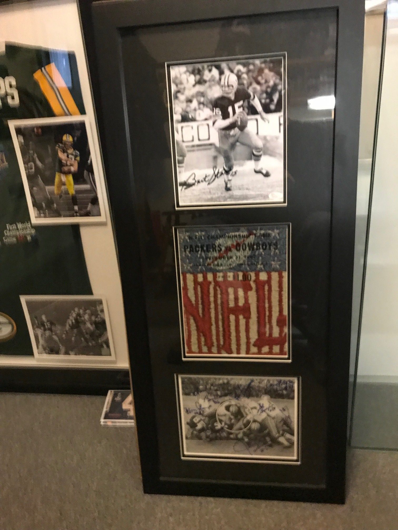 Framed 1967 Ice Bowl Collage 00051