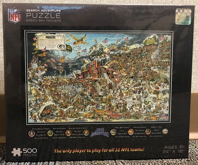 Green Bay Packers 500 Piece Puzzle
