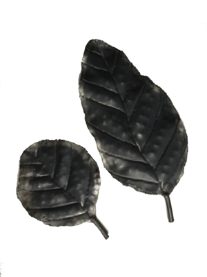 Wrought Iron Leaf Tray