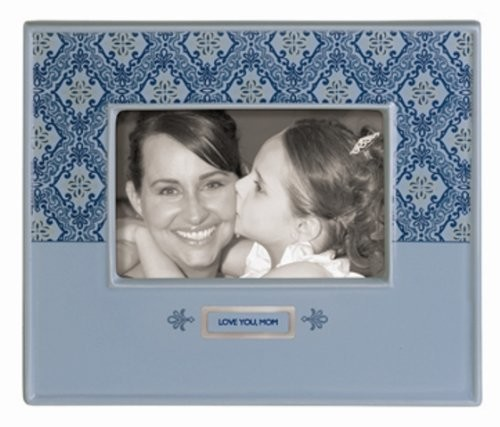 """Love You, Mom"" Ceramic Picture Frame"