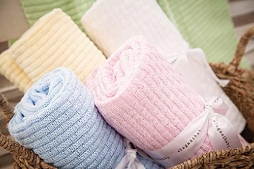 Basket Weave Baby Blankets