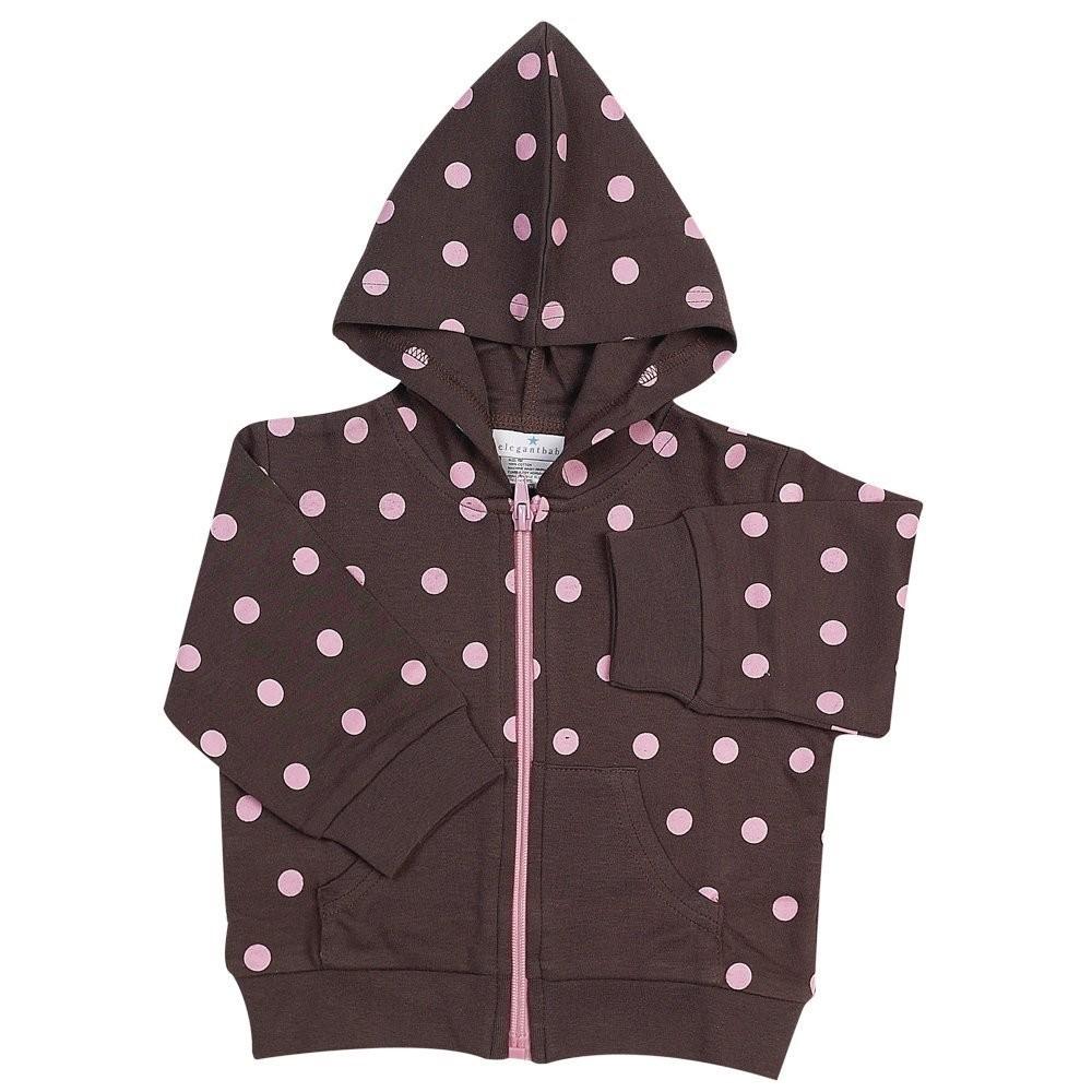 Chocolate w/Pink Polka Dot Jacket