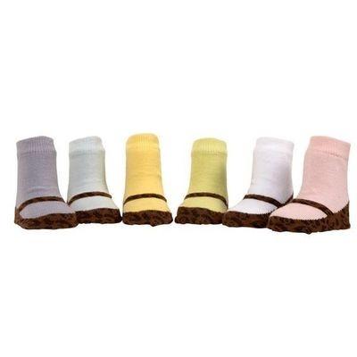 Lisa's Leopards Organic Baby Socks, Set of 6