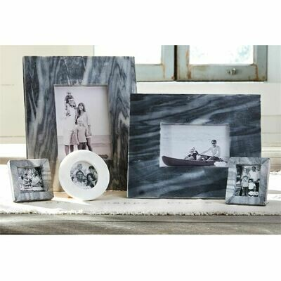 Gray Marble Picture Frames