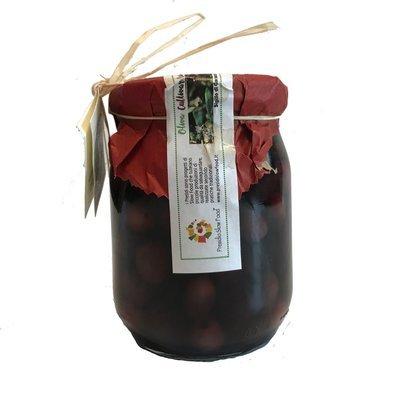 1 Barattolo di olive brucate  a mano  Pz Presidio Slow Food, paghi solo la spedizione