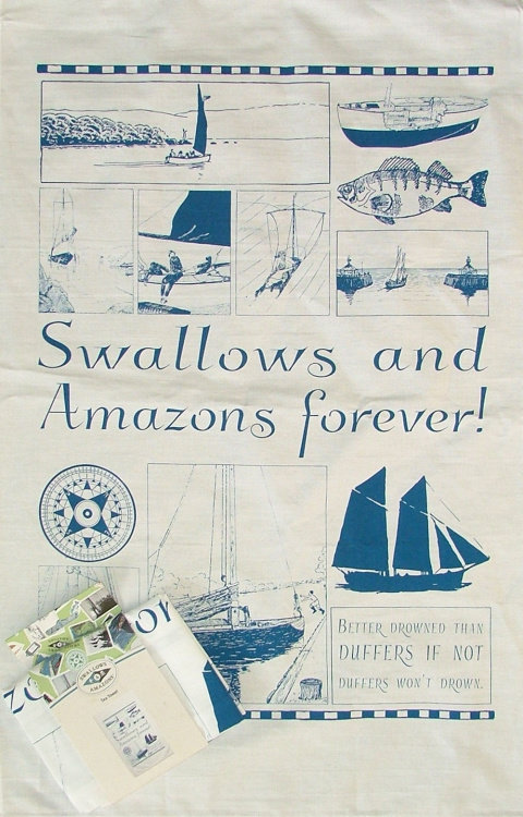 Sailing Tea Towel N-TTS