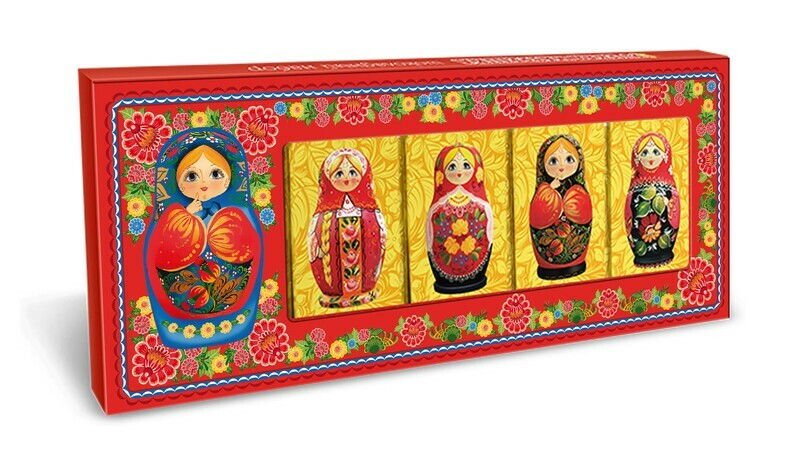 Шоколадный набор «Русская Матрёшка»