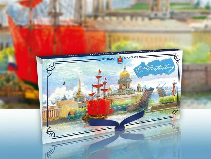Шоколад «Санкт-Петербург. Алые Паруса»