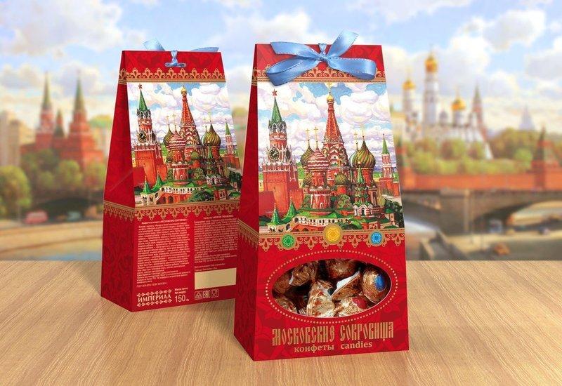 Конфетный микс «Московские сокровища»