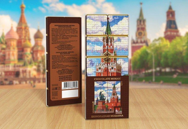 Шоколадная Мозаика «Москва»