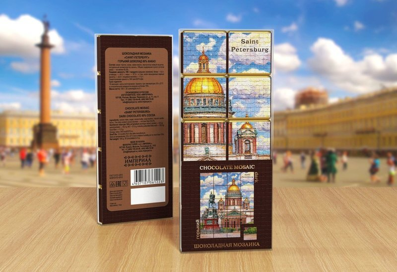Шоколадная Мозаика «Санкт-Петербург»
