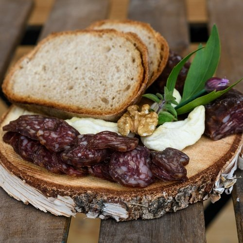 Emmentaler Bio Dauerwürste vom Rind Chili, Knoblauch und Nature