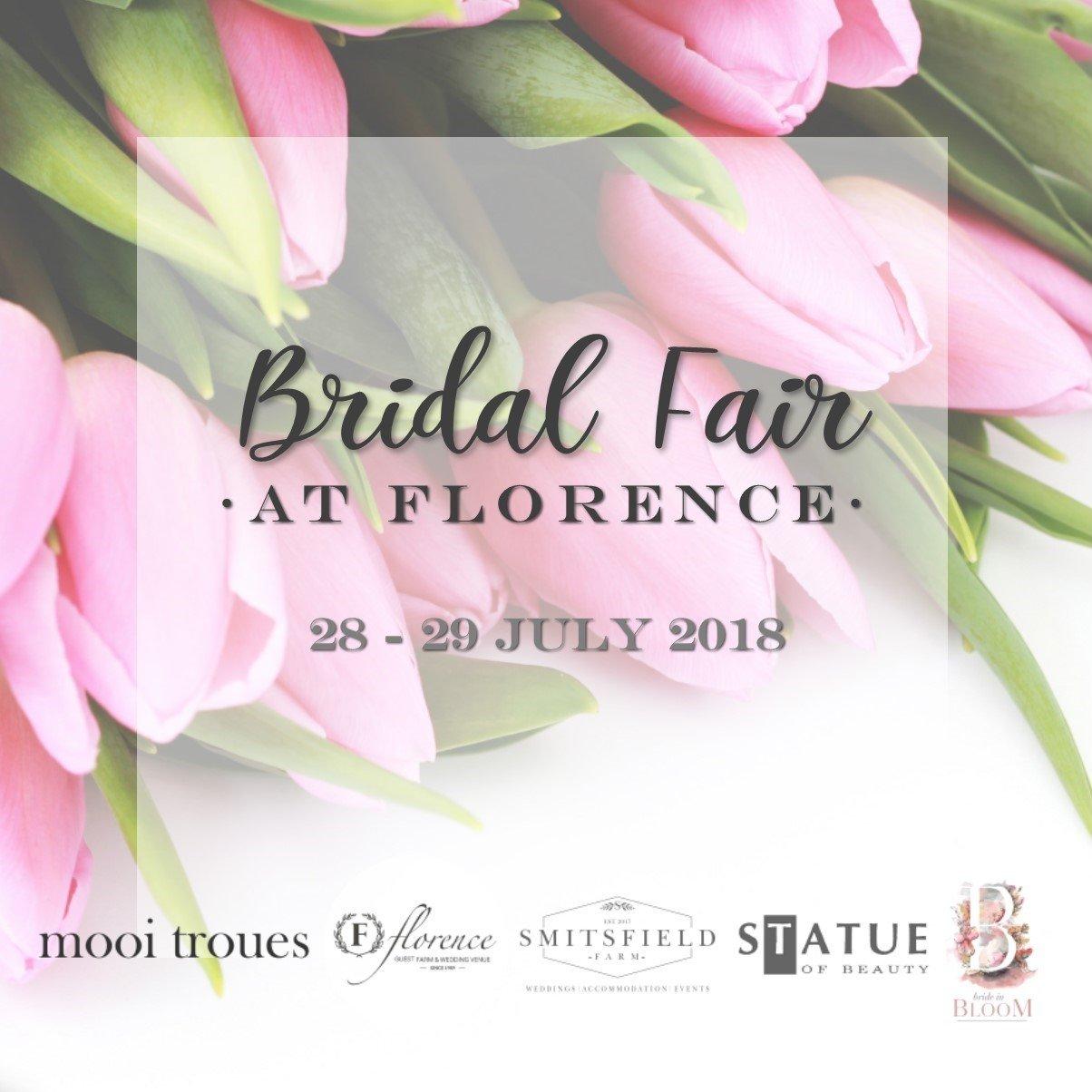 Bridal Fair at Florence - Entrance (28 - 29 July 2018) 00001