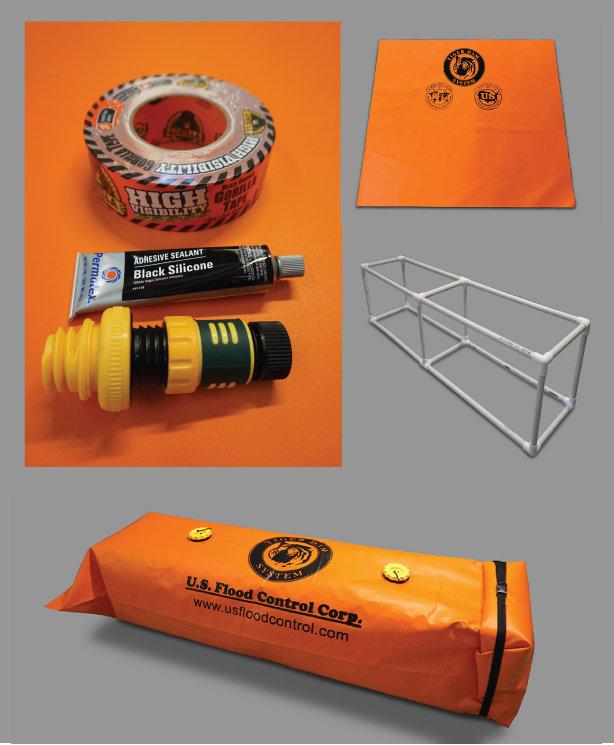 Tiger Dam™ Homeowners Kit 00001
