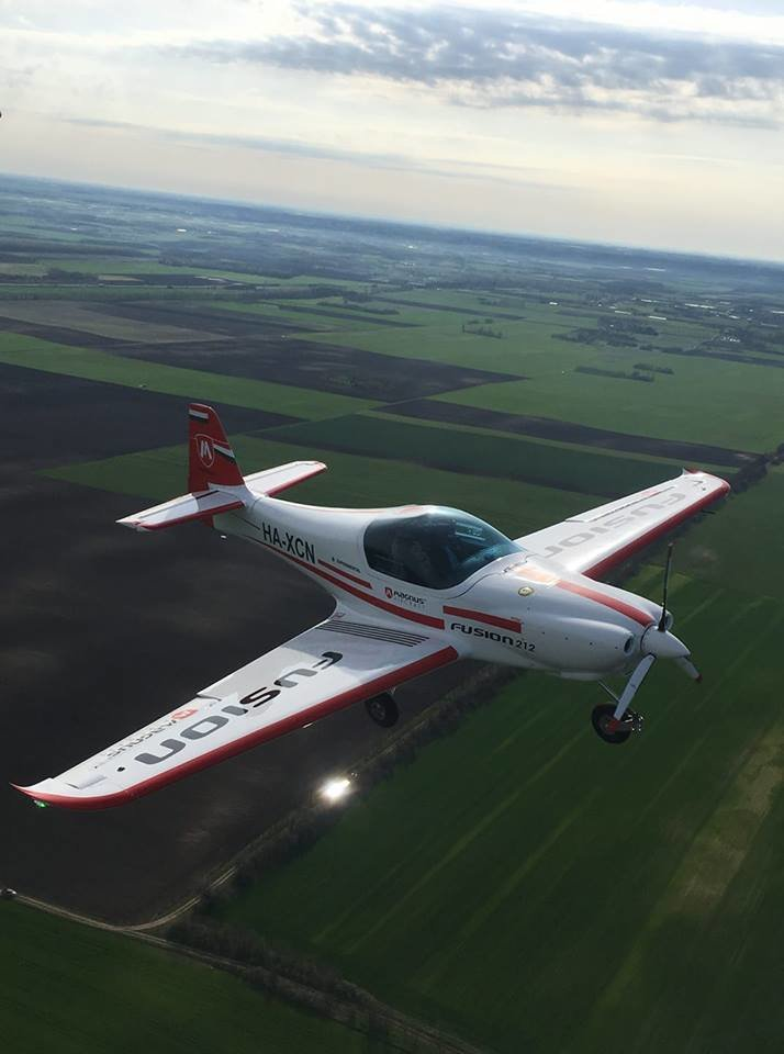 Test Fly Magnus aircraft Fussion 212