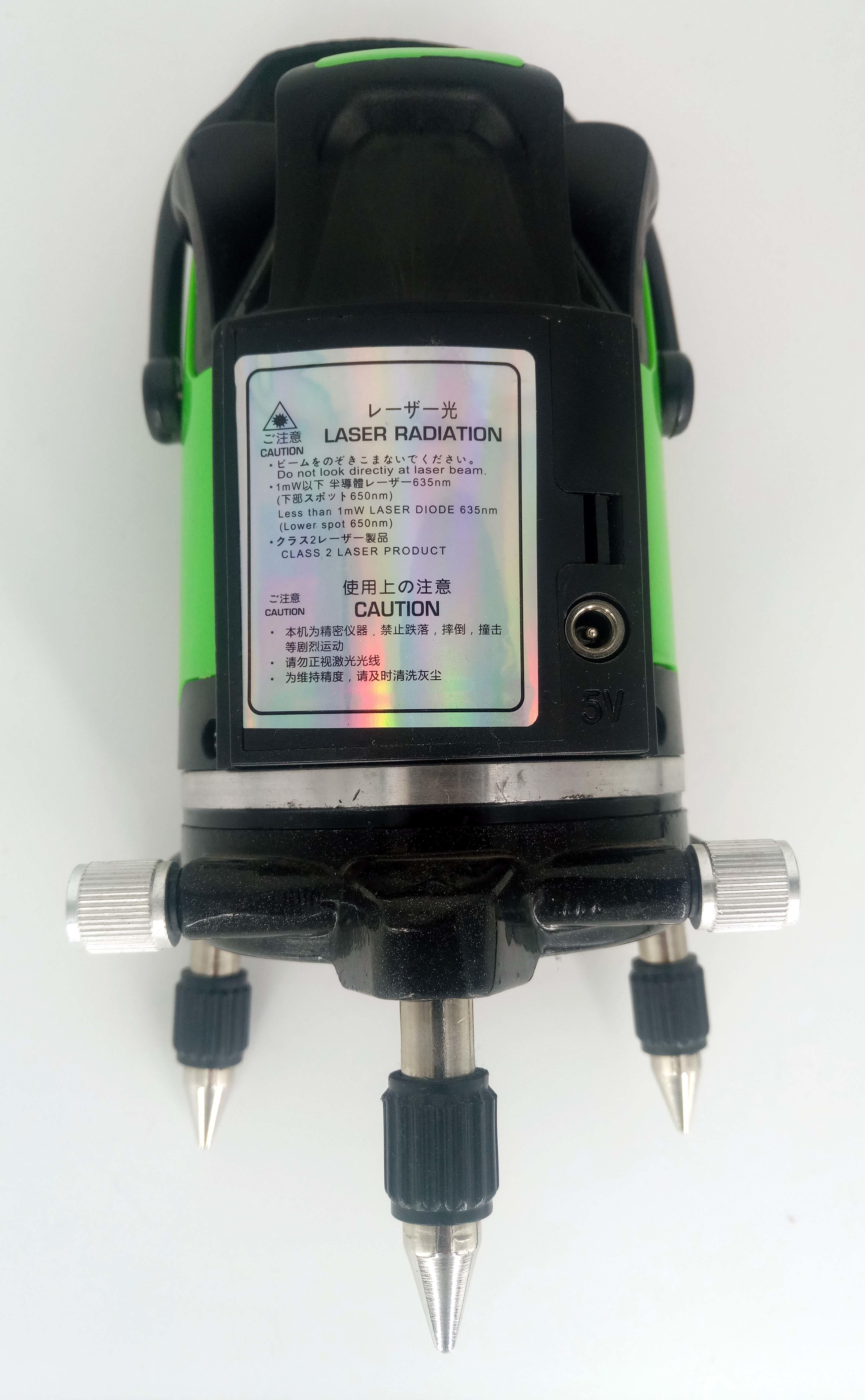 Лазерный нивелир (уровень, луч зеленый) голден инструмент СТИ-636-5L