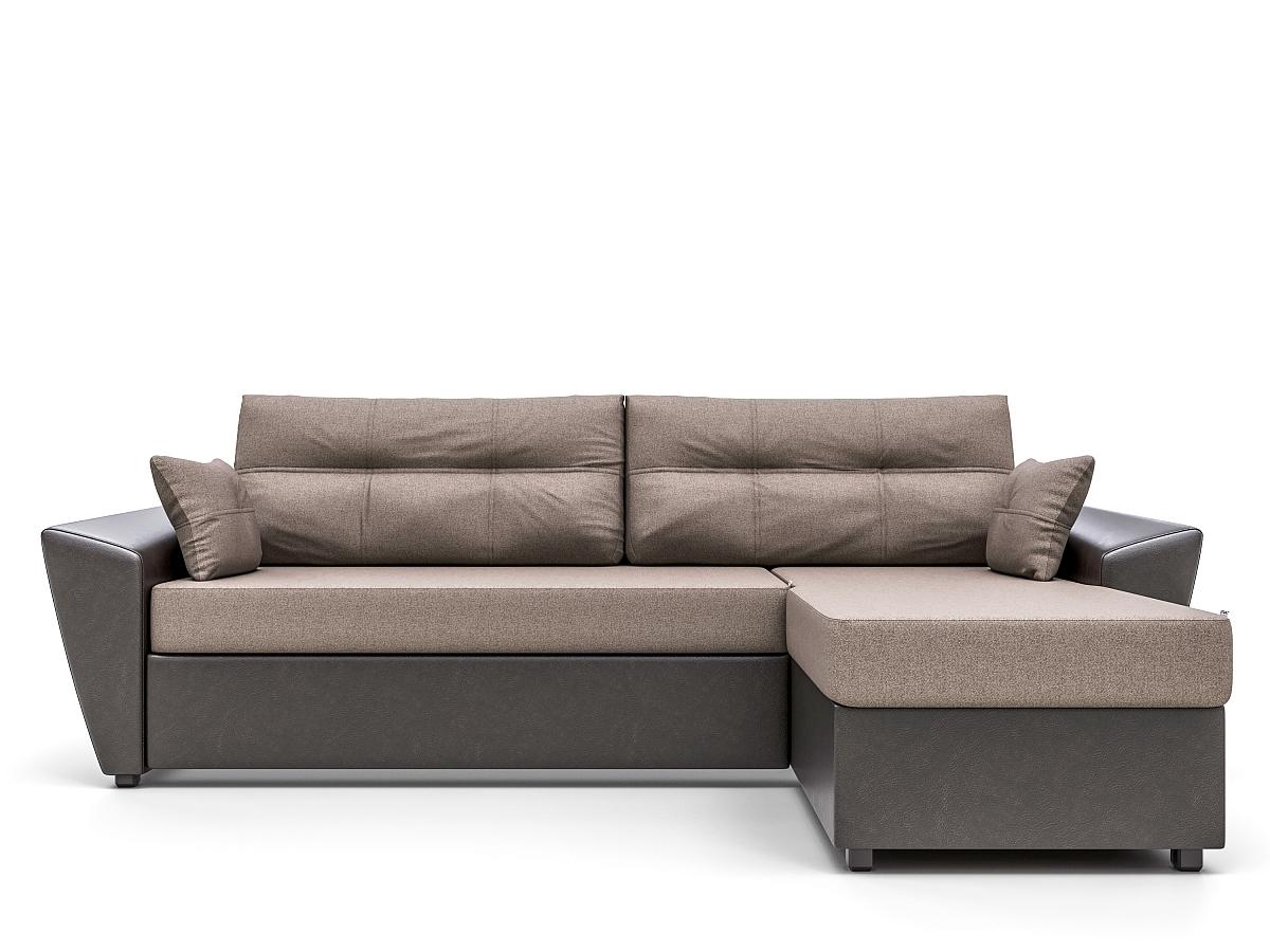 Купить угловой диван Неаполь Brown 91825