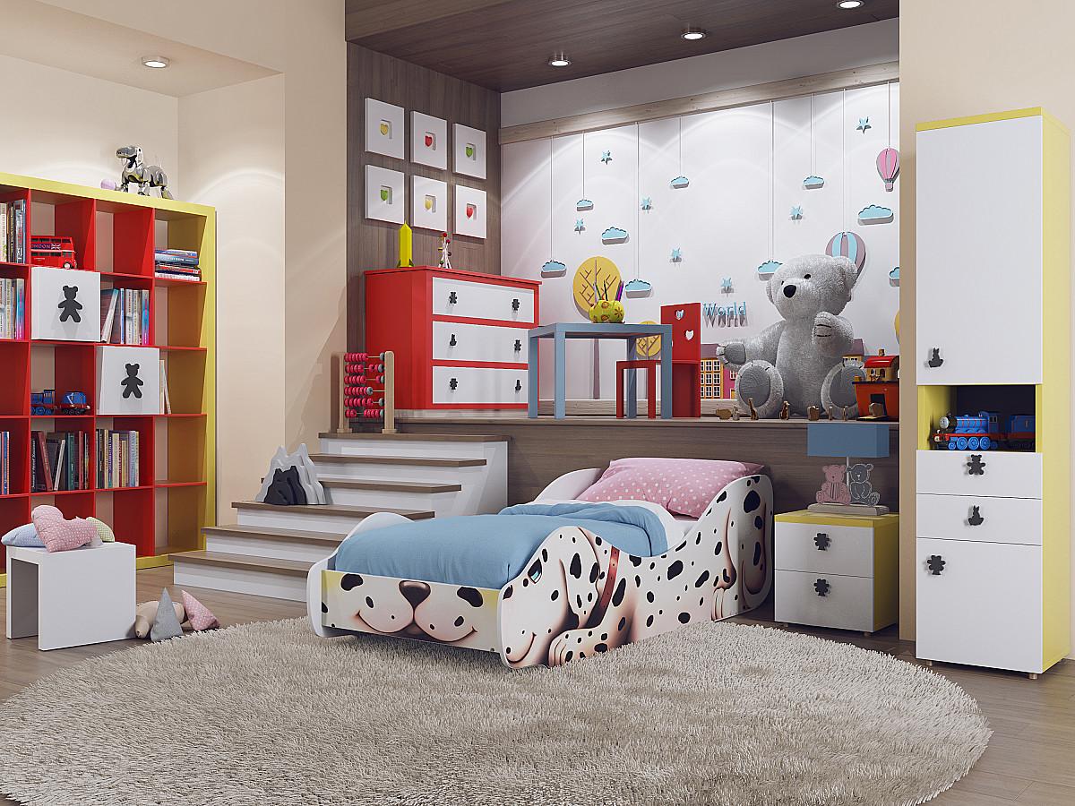 Детская кровать Зверята Далматин