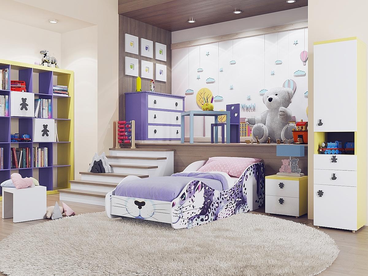 Купить детскую кровать Зверята Ирбис 91836