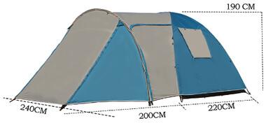 Четырёхместная палатка Coolwalk PLUS 5224