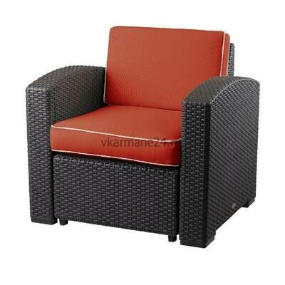 Кресло с подушками Rattan Premium (68x65,6x76см)