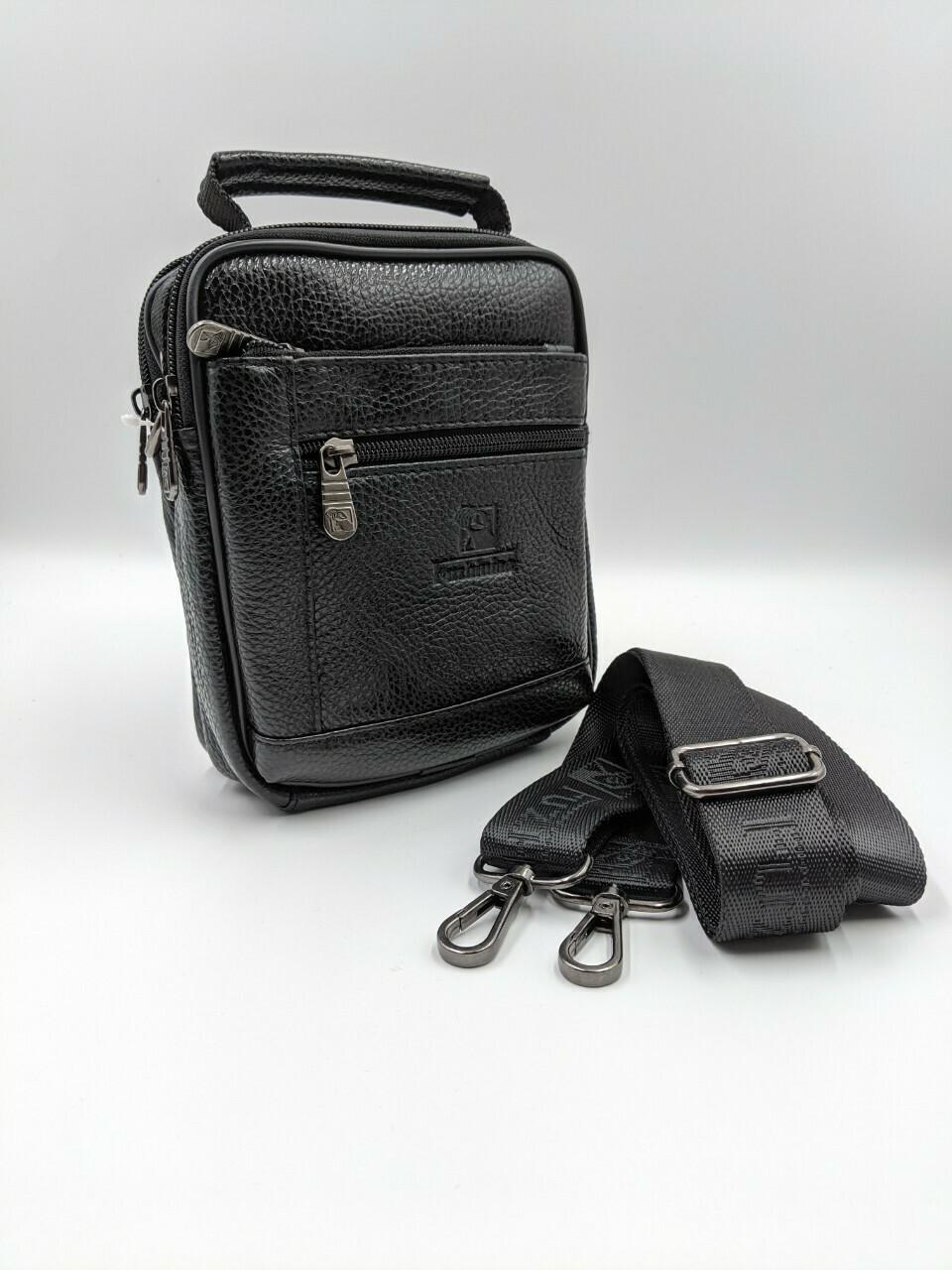 Мужская кожаная сумка zznick 5286