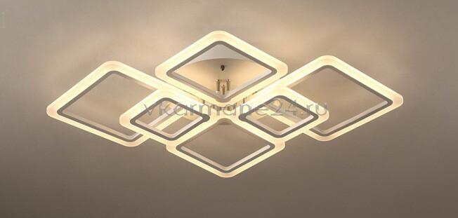 Люстра потолочная светодиодная с пультом управления