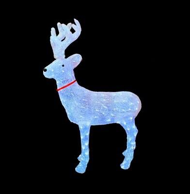 Световая LED фигура Олень 125 см