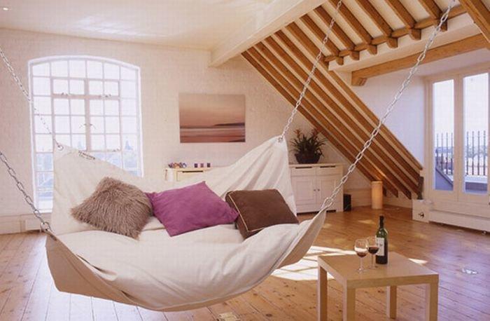 Подвесной гамак кровать 00172