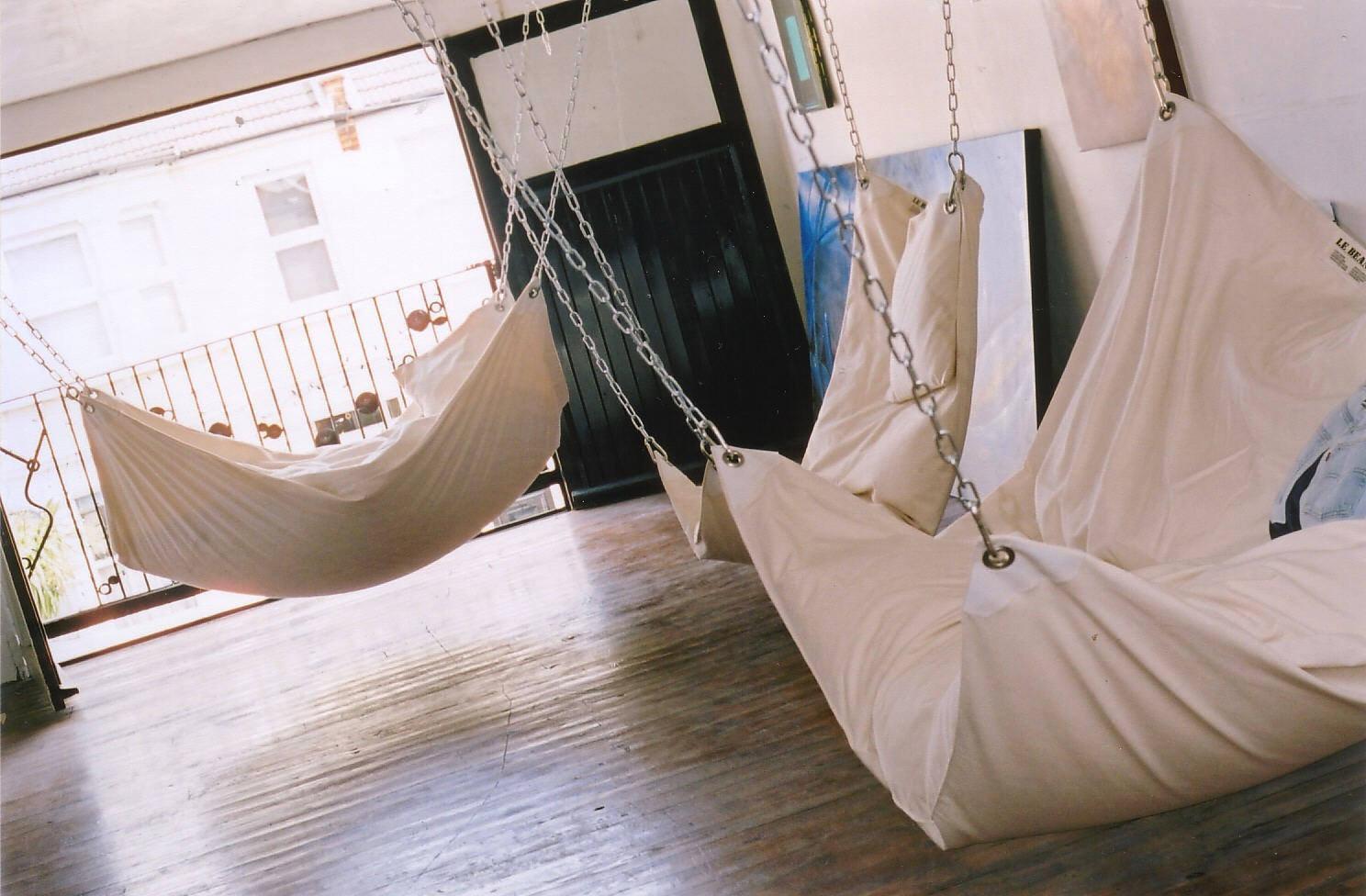 Подвесной гамак кровать