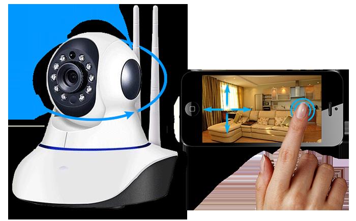 Поворотная IP камера с Wi-Fi 00203