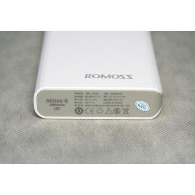 Внешний аккумулятор Romoss 20000 мAч