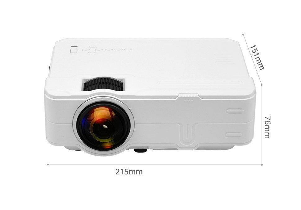 Проектор mini LED Projector RD812 Wi-Fi 00539