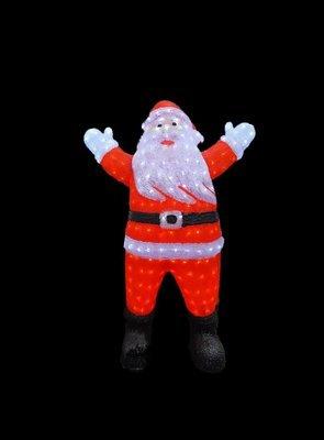 Светодиодная фигура Дед Мороз 127 см