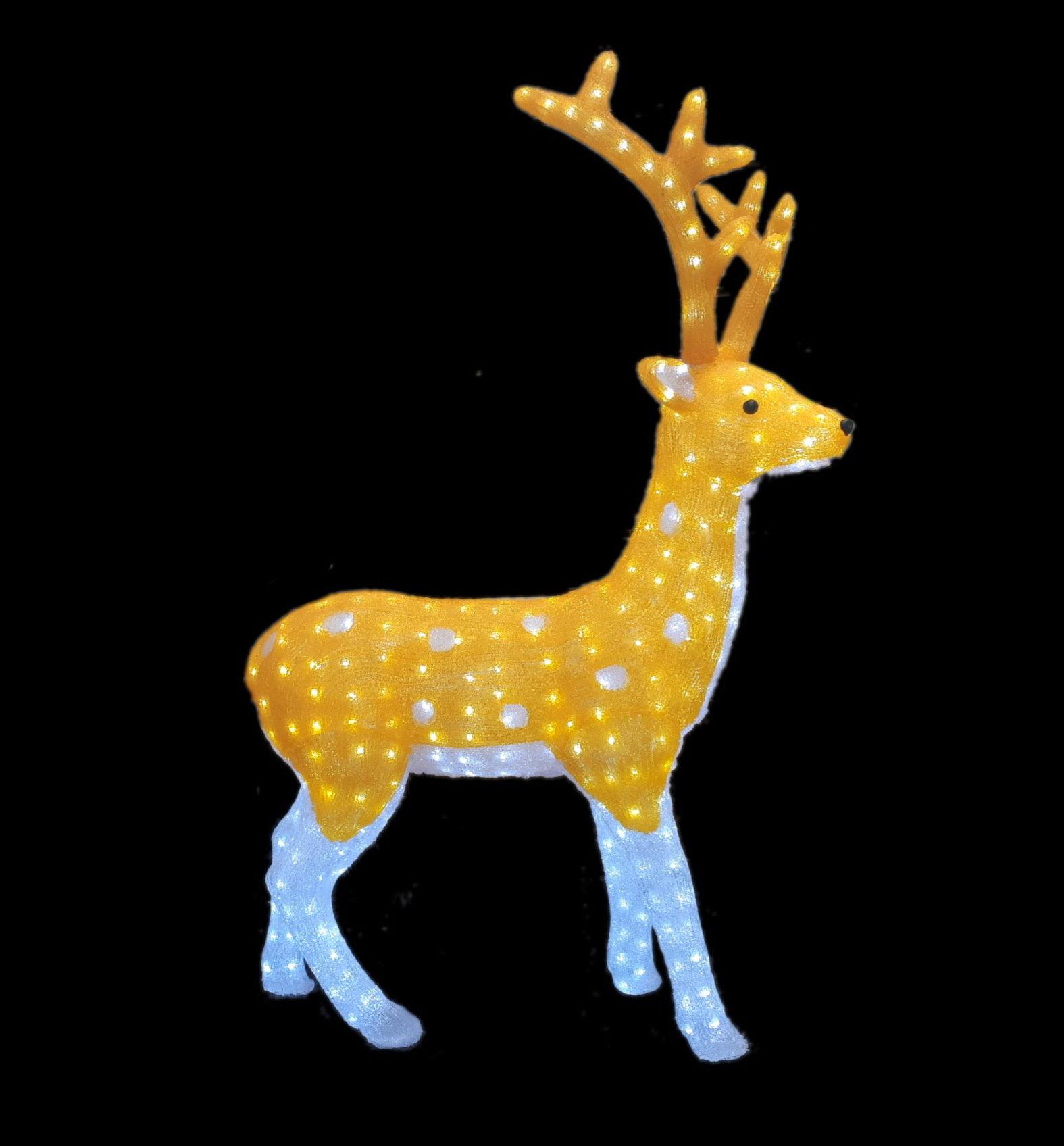 Светодиодная фигура Северный олень 110 см 00797