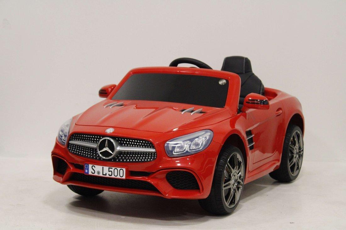 Детский электромобиль MERCEDES-BENZ SL500 (ЛИЦЕНЗИОННАЯ МОДЕЛЬ) с дистанционным управлением